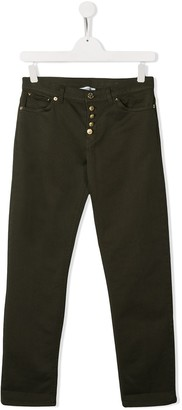 Dondup Kids Button Up Trousers