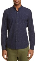 Scotch & Soda Band Collar Button-Down Shirt
