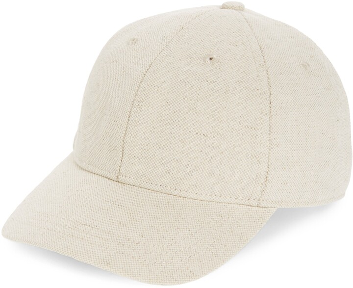 Cotton & Linen Baseball Cap