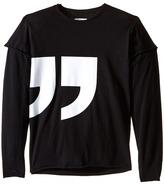 Nununu Super Soft Quotation T-Shirt (Little Kids/Big Kids)