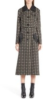 Fendi Women's Double Face Wool & Silk Coat With Zip-Off Hem