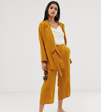 Y.A.S Tall mustard culottes-Yellow