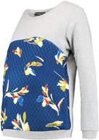 Pietro Brunelli SANTA MONICA NURSING Sweatshirt flowerish picasso/grey