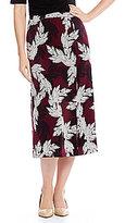 Preston & York April Garden Print Midi Skirt