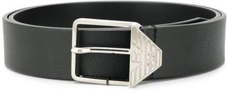 Emporio Armani Branded Buckle Belt