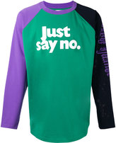 Palm Angels 'just say no' T-shirt - men - Cotton - XS