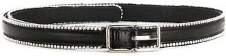 Saint Laurent Crystal-Embellished Belt
