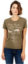 True Religion Drop Beats Not Bombs Womens Tee