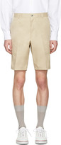 Thom Browne Khaki Unconstructed Chino Shorts