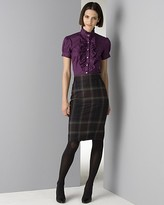 Women's Duchess Shirt and Tartan Kennedy Skirt