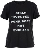 R 13 Black girls Invented Punkrock T-shirt