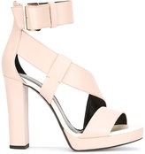 Lanvin platform sandals - women - Leather - 38