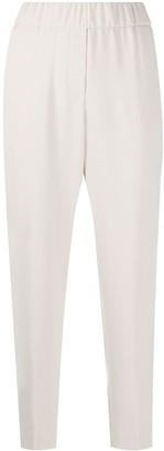 Peserico Elasticated Tapered Trousers