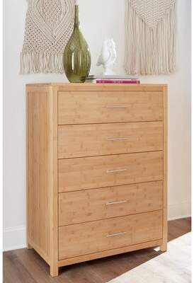 Millwood Pines Acosta 5 Drawer Chest Millwood Pines