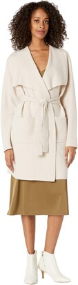 Cupcakes And Cashmere Andromeda Knit Drape Front Jacket
