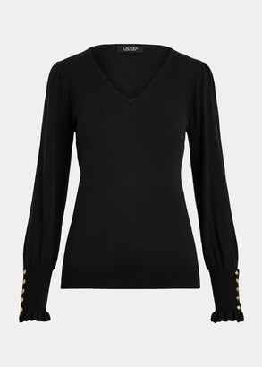 Ralph Lauren Flared-Cuff Sweater