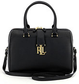 Lauren Ralph Lauren Carrington Collection Braelyn Barrel Satchel