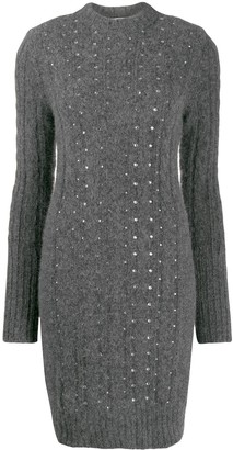 Philosophy di Lorenzo Serafini Embellished Knitted Dress