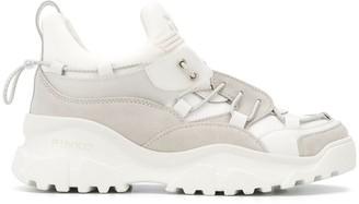 Pinko chunky sole sneakers