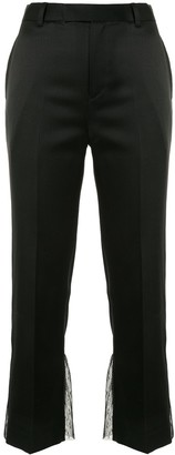Undercover Satin Cropped Trousers