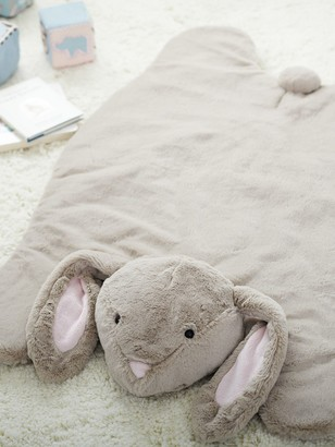 Pottery Barn Kids Plush Bunny Activity Play Mat