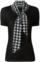 Salvatore Ferragamo tie neck blouse