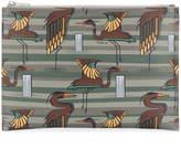 Furla stork print pouch