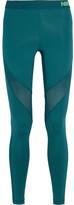 Nike Pro Hypercool Stretch-jersey Leggings - Jade