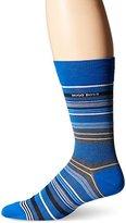 HUGO BOSS Men's Rs Design Multi Stripe Crew Socks