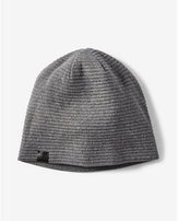 Express reversible ribbed beanie