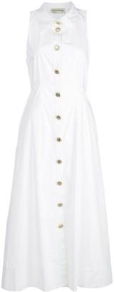 Nicholas Sleeveless Shirt Dress