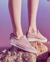 Ted Baker Suede tennis trainers