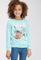 Forever 21 Finding Nemo Raglan Sweatshirt (Kids)