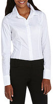 Takara Long-Sleeve Tailored Blouse