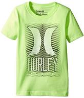 Hurley Statik Short Sleeve Tee (Little Kids)