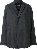 Pas De Calais oversized blazer - women - Linen/Flax/Polyester/Polyurethane/Rayon - 38