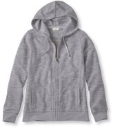 L.L. Bean Women's Textured French Terry Hoodie