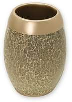 India Ink Huntington Resin and Cracked Glass Contemporary Tumbler Champagne