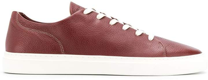 Harry's of London contrast lace-up sneakers