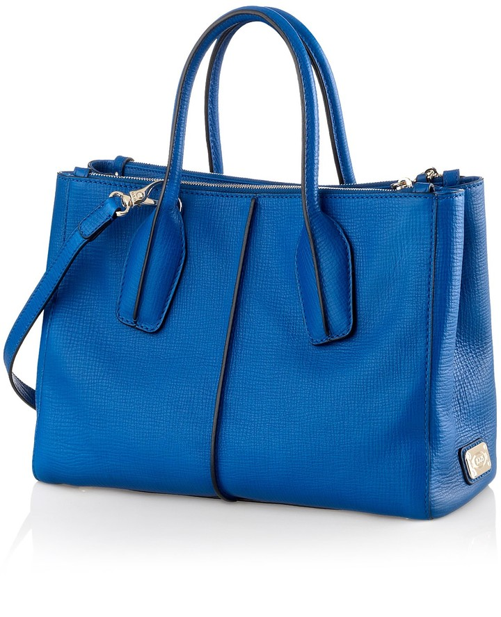 Tod's D-Styling Small Leather Tote Bag