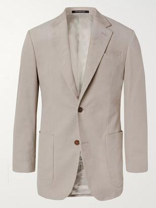 Richard James Stone Slim-Fit Cotton-Corduroy Suit Jacket