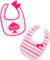 Kate Spade Layette hey baby bib gift set