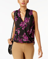INC International Concepts Surplice Top, Created for Macy's