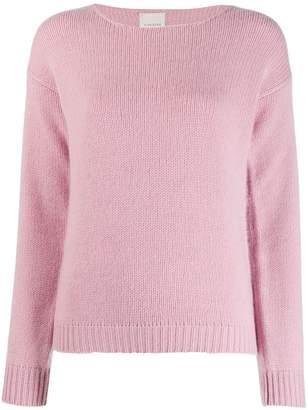 Fine Edge crew neck sweater