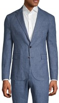 Ralph Lauren Purple Label Purple Label Standard-Fit Linen Blazer