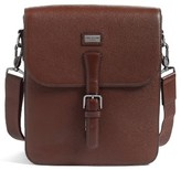 Ted Baker Men's Jagura Leather Flight Bag - Brown