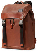 Jack Spade Taba Mason Leather Army Backpack