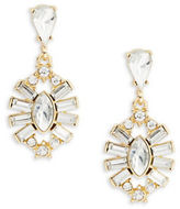 RJ Graziano Faceted Crystal Drop Earrings