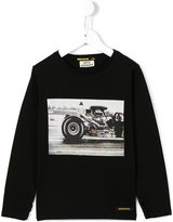 Finger In The Nose car print long sleeve top