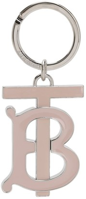 Burberry Tb Logo Charm Key Holder